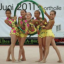 23./24.6.2012 Deutsche Meisterschaften / Deutschland-Cup RSG Gruppe in Berlin
