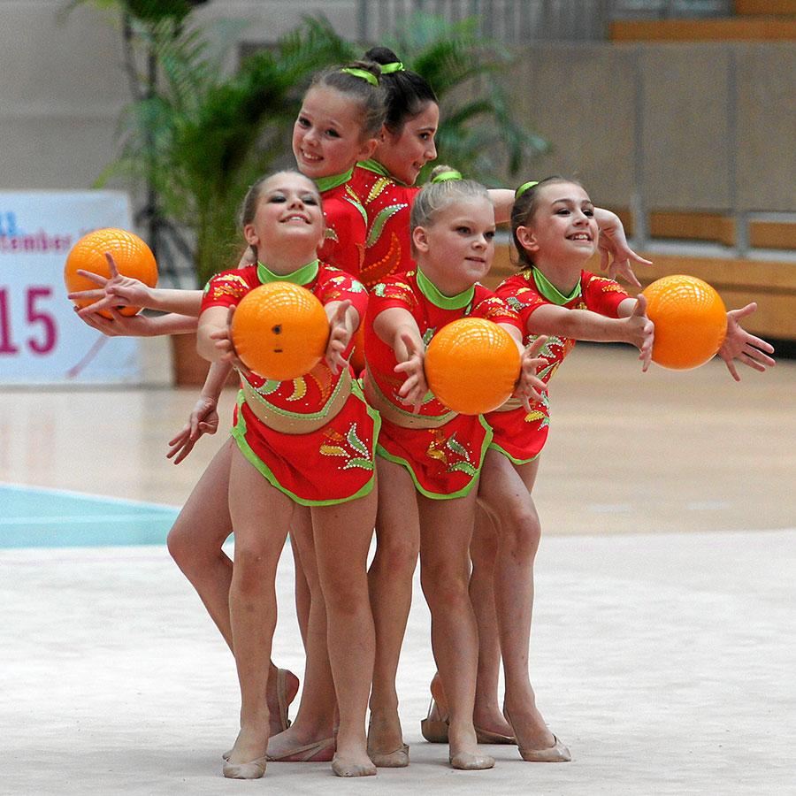 26.-28.6.2015 Deutsche Meisterschaften / Deutschland-Cup RSG Gruppe in Chemnitz